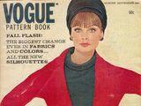 Vogue Pattern Book August/September 1964