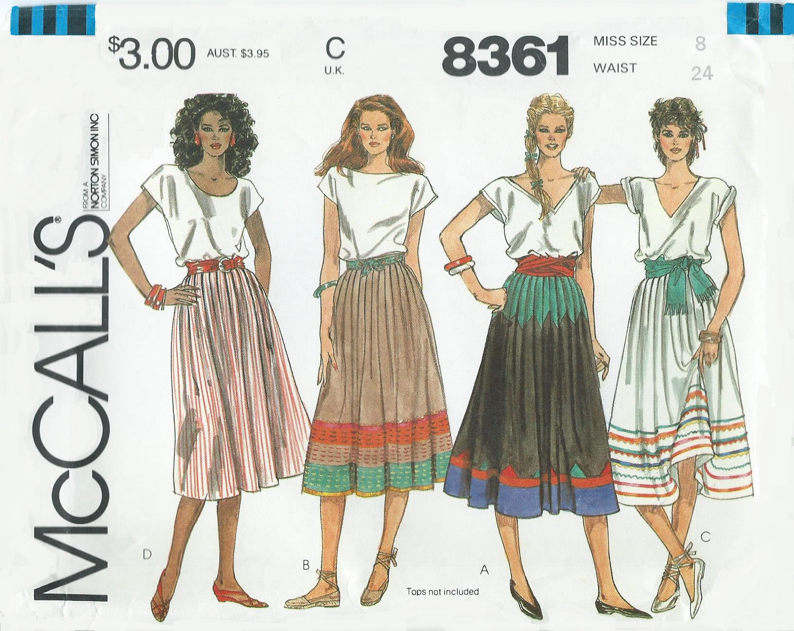 McCall's 8361 A