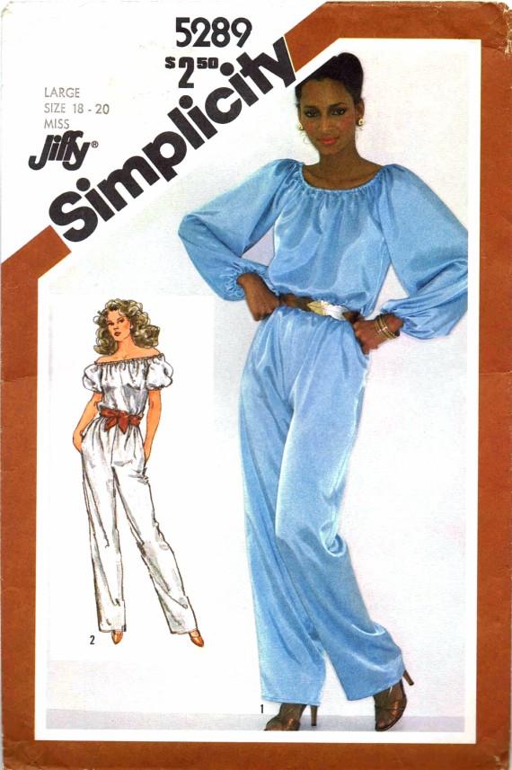Simplicity 5289 A