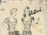Butterick 2365 A