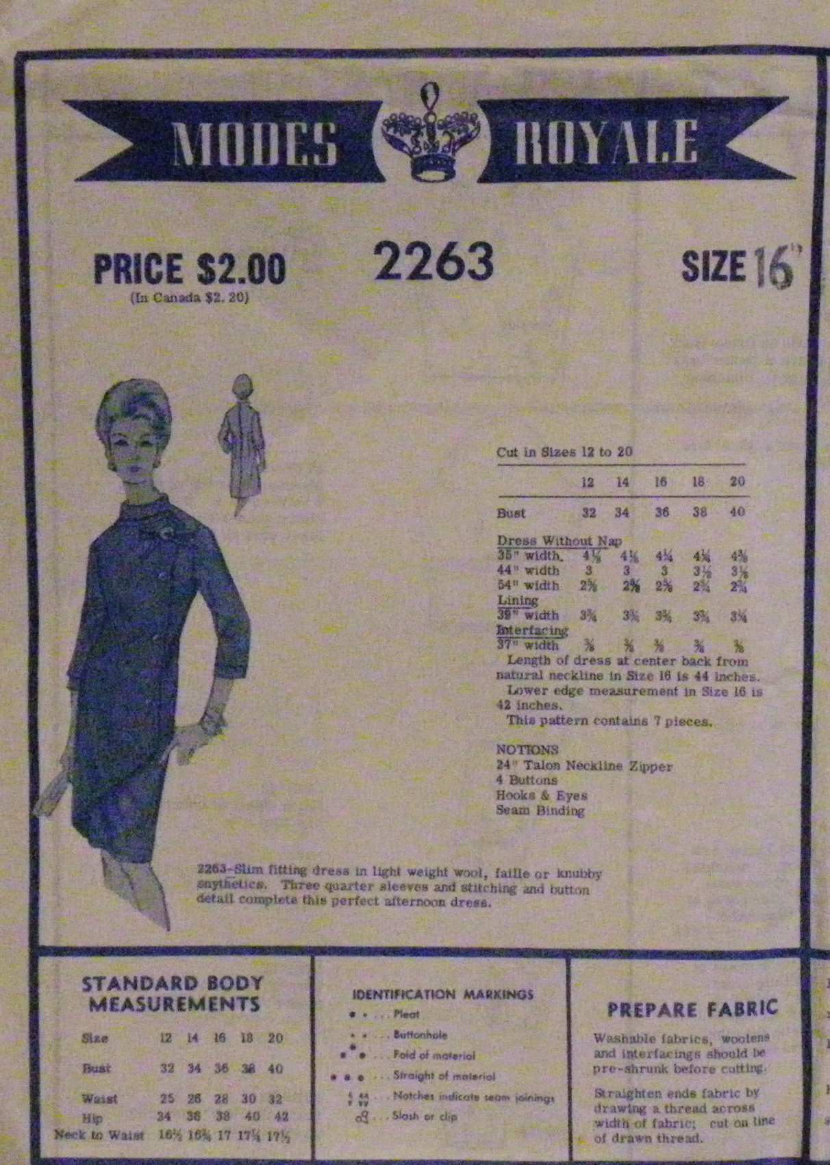 Modes Royale 2263