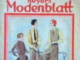 Beyers Modenblatt No. 3 Vol. 9 1930