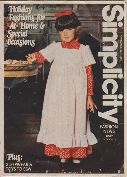 Simplicity Fashion News December 1978/January 1979