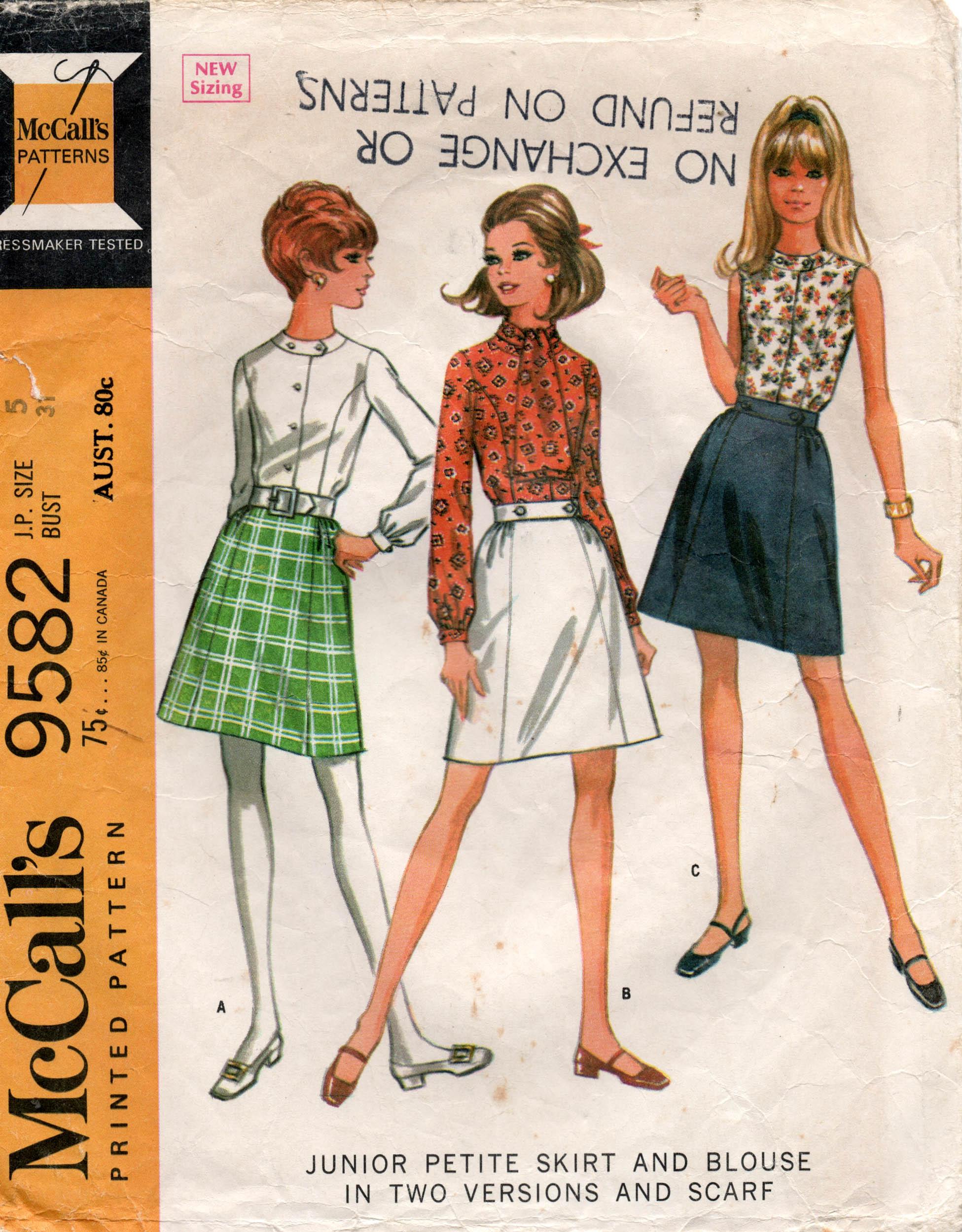 McCall's 9582 A