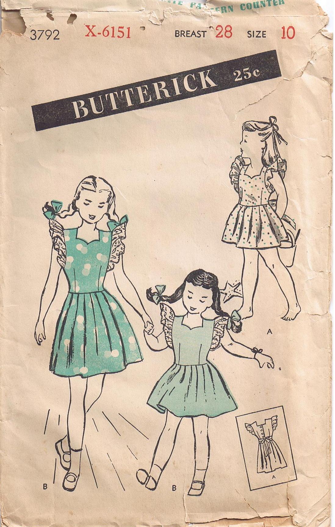 Butterick 3792 A