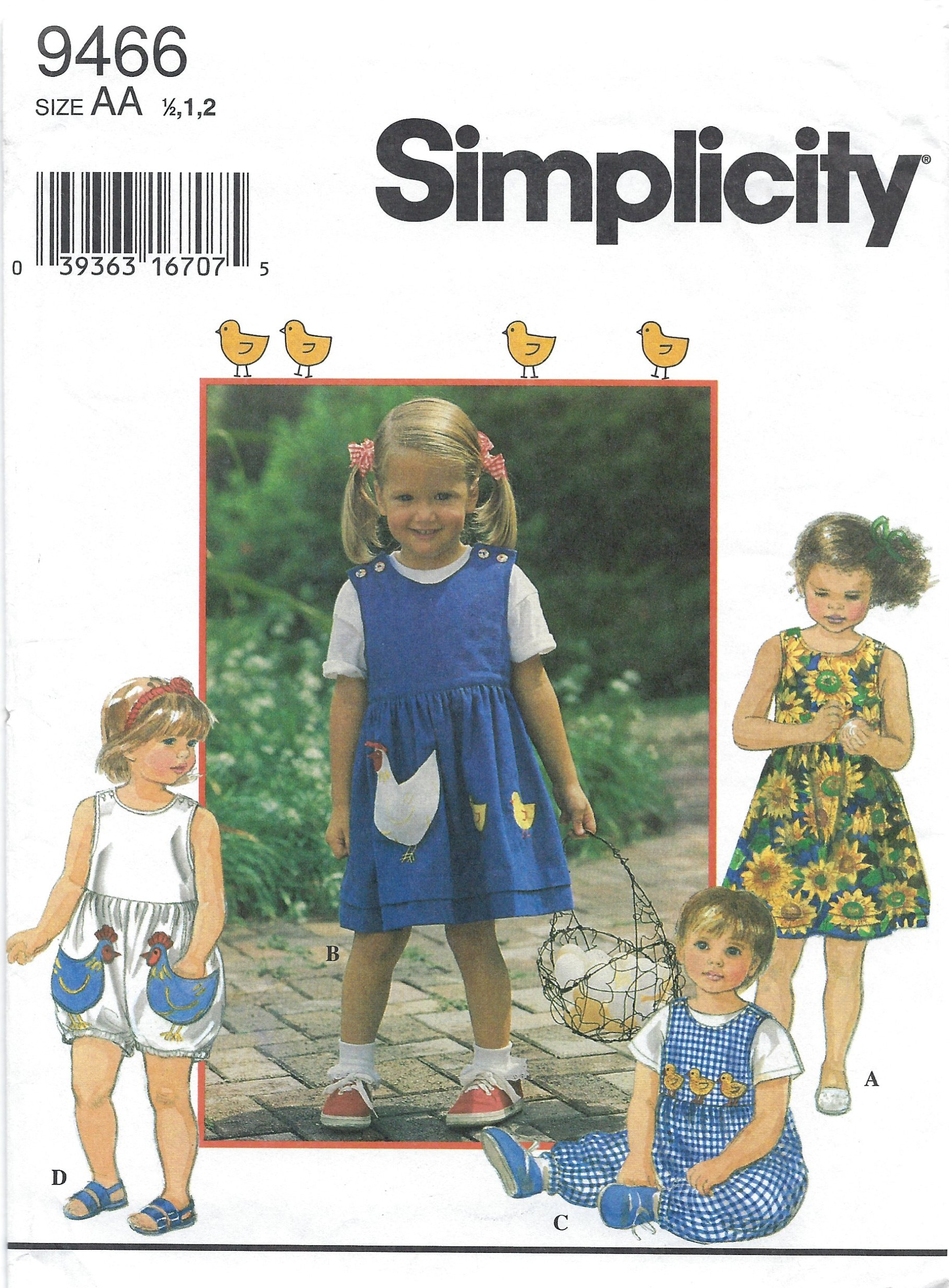 Simplicity 9466 B