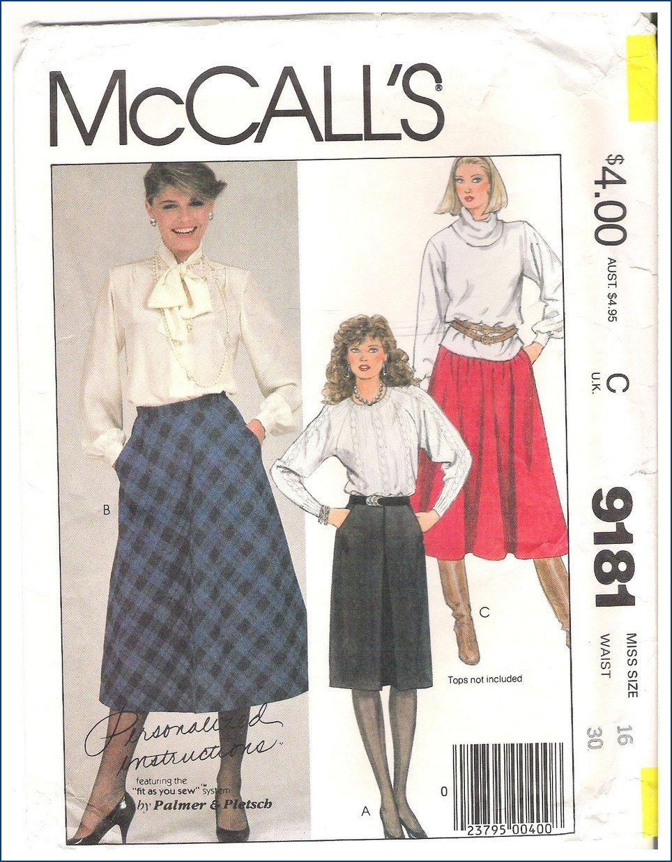 McCall's 9181