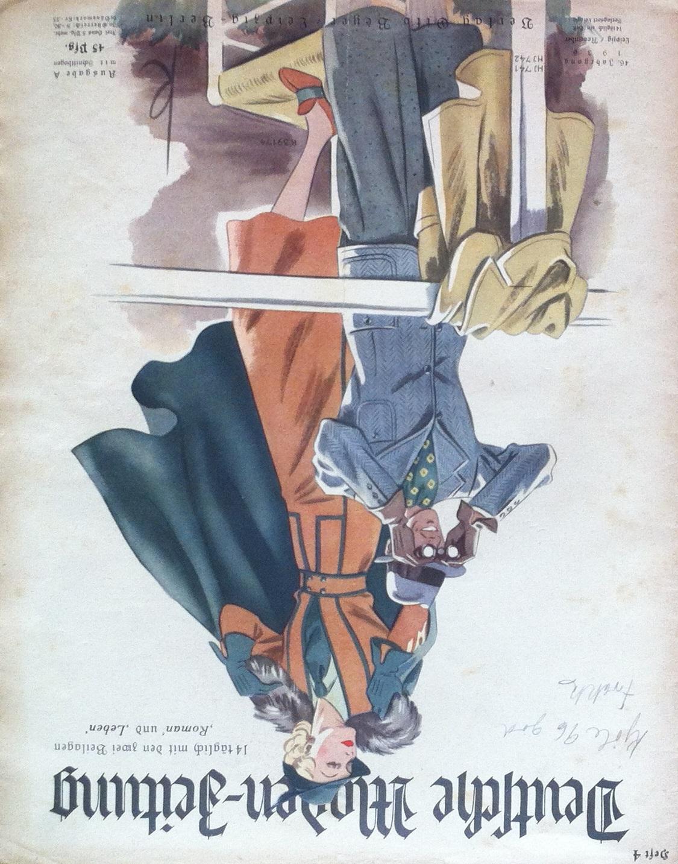 Deutsche Moden-Zeitung No. 4 Vol. 46 1936