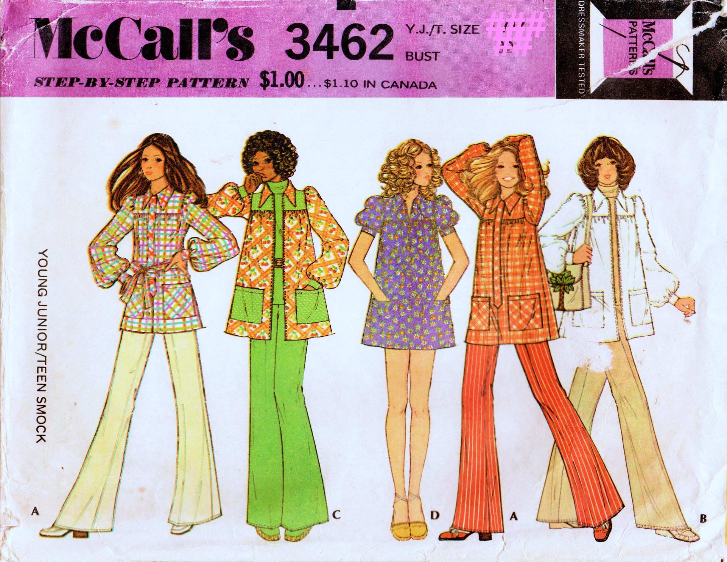 McCall's 3462 A