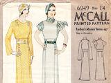 McCall 6949 A