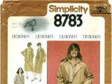 Simplicity 8783 A