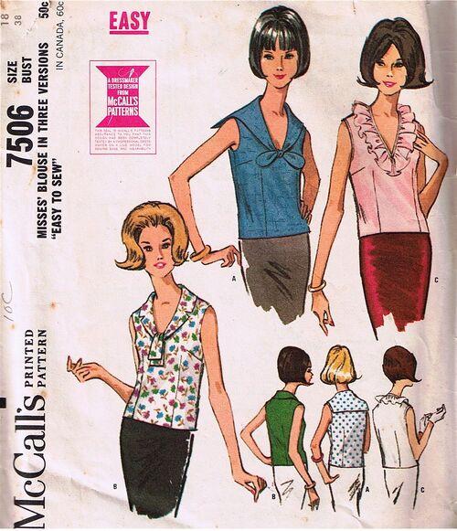 McCall's 7506, copyright 1964.