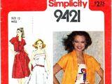 Simplicity 9421 A