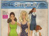 Simplicity 8244 A