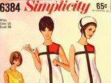 Simplicity 6384 A