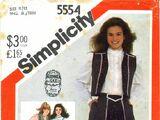 Simplicity 5554 B