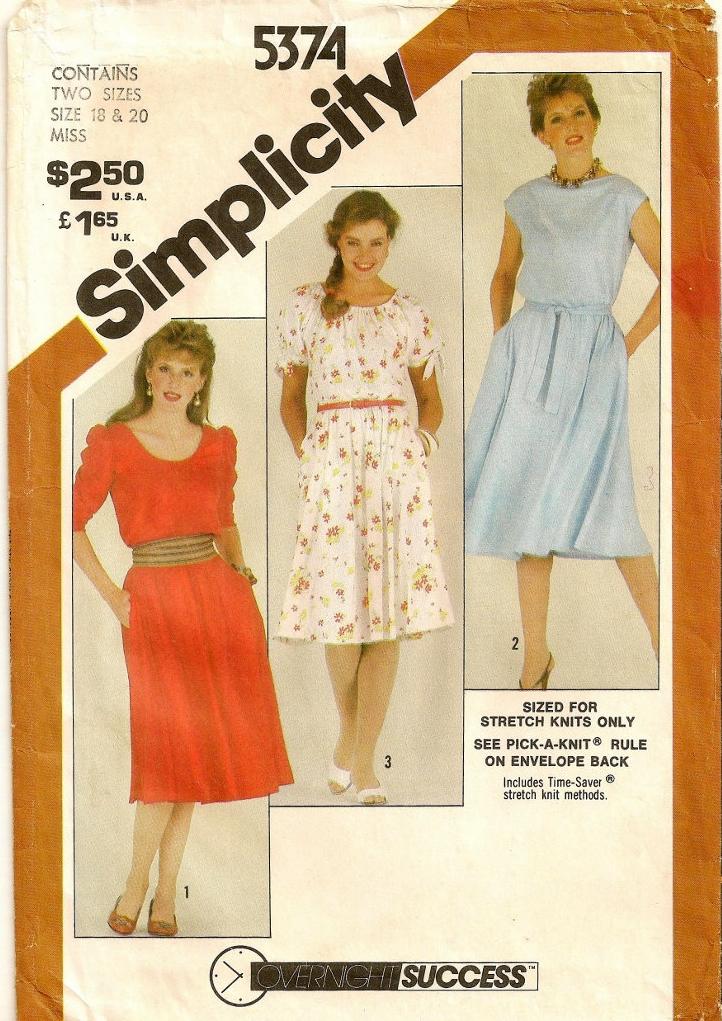 Simplicity 5374 A