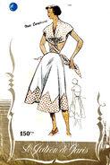 Le patron de paris 709 timeless templates vintage sewing patterns