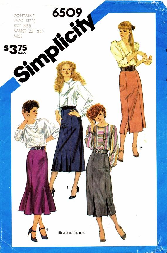 Simplicity 6509 B