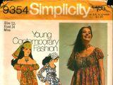 Simplicity 9354