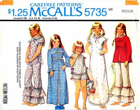 McCall's 5735 A