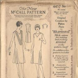 McCall 4457 A