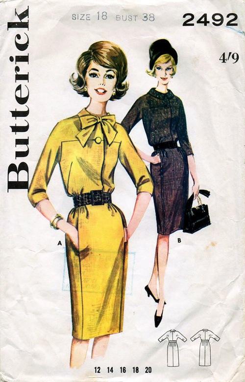Butterick 2492