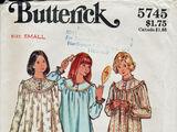 Butterick 5745 B
