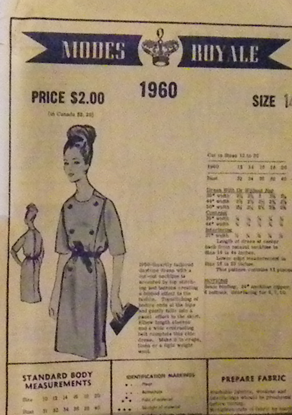 Modes Royale 1960