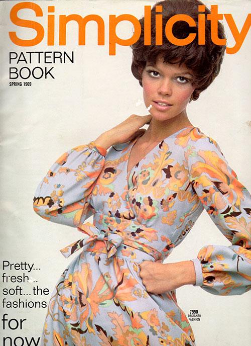 Simplicity Pattern Book Spring 1969