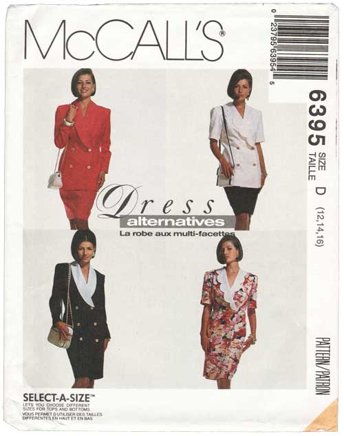 McCall's 6395 B