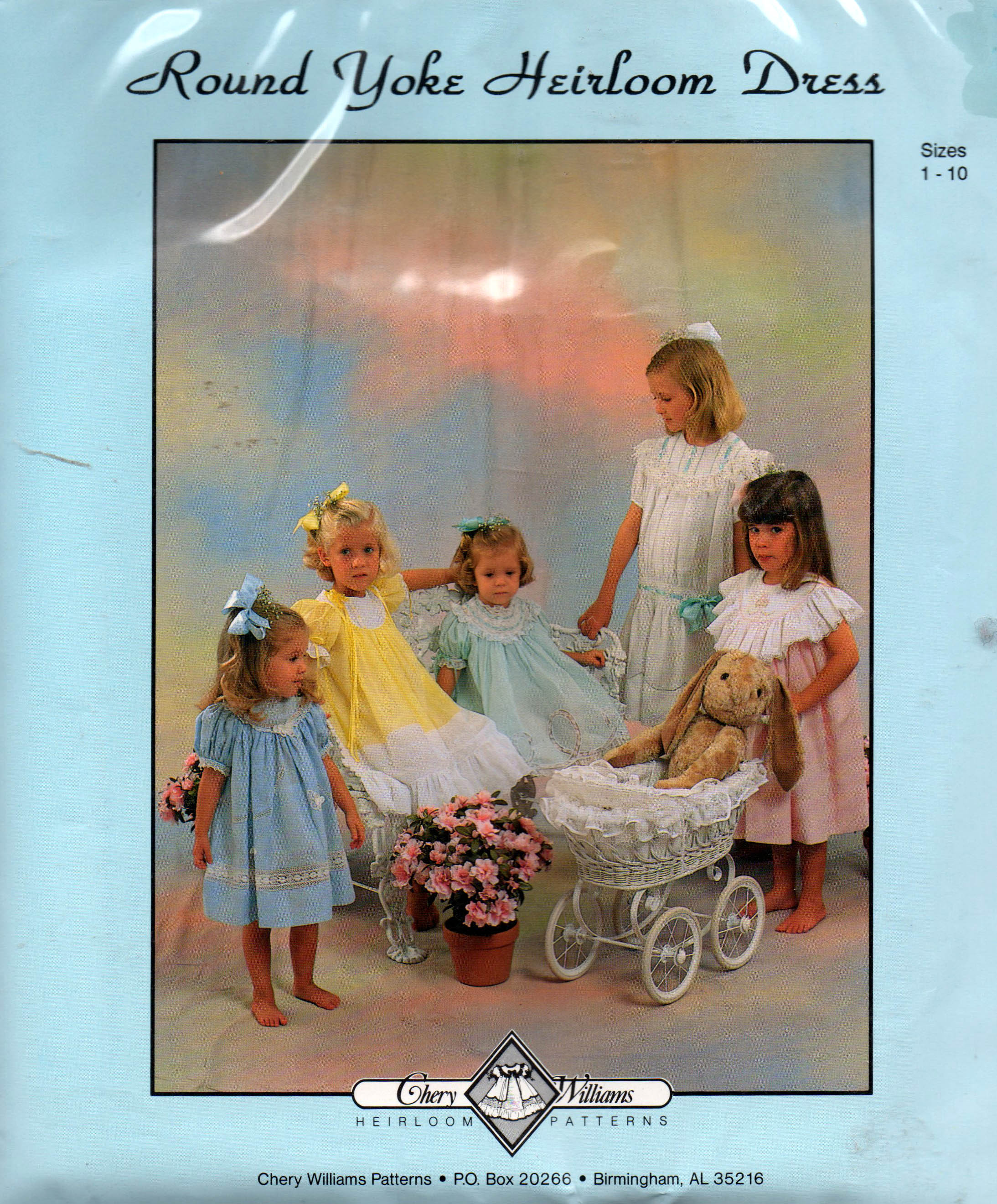 Chery Williams Round Yoke Heirloom Dress
