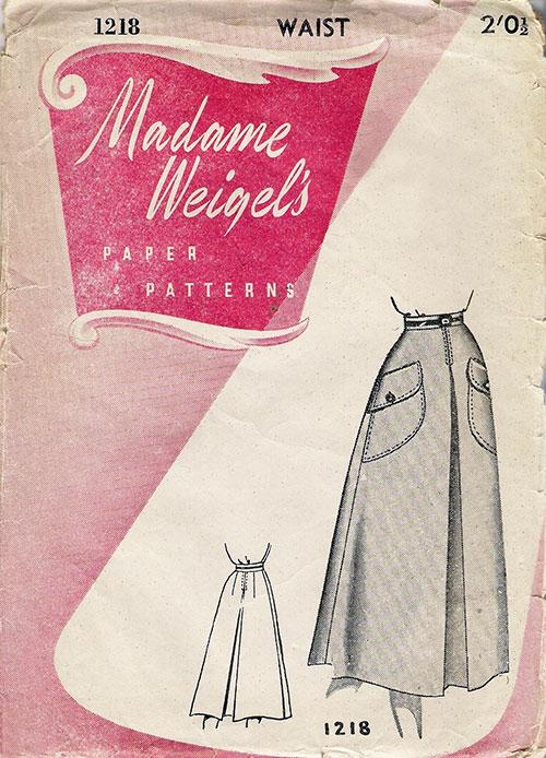 Madame Weigel's 1218