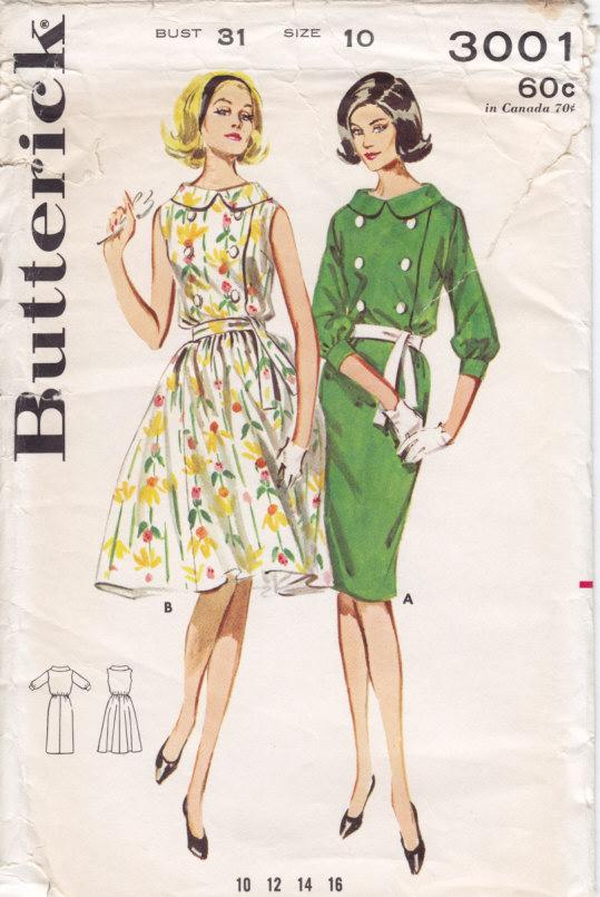 Butterick 3001 A