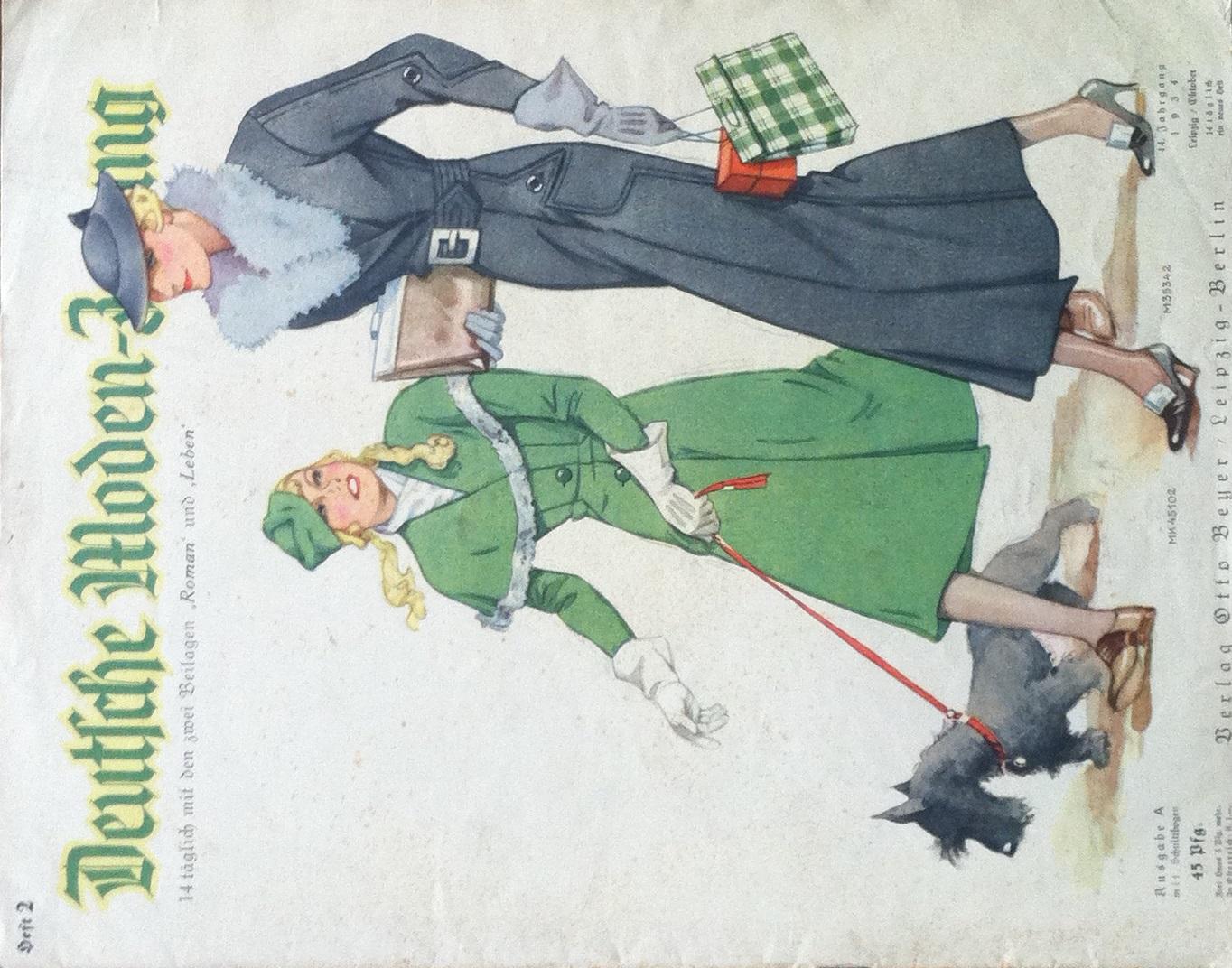 Deutsche Moden-Zeitung No. 2 Vol. 44 1934
