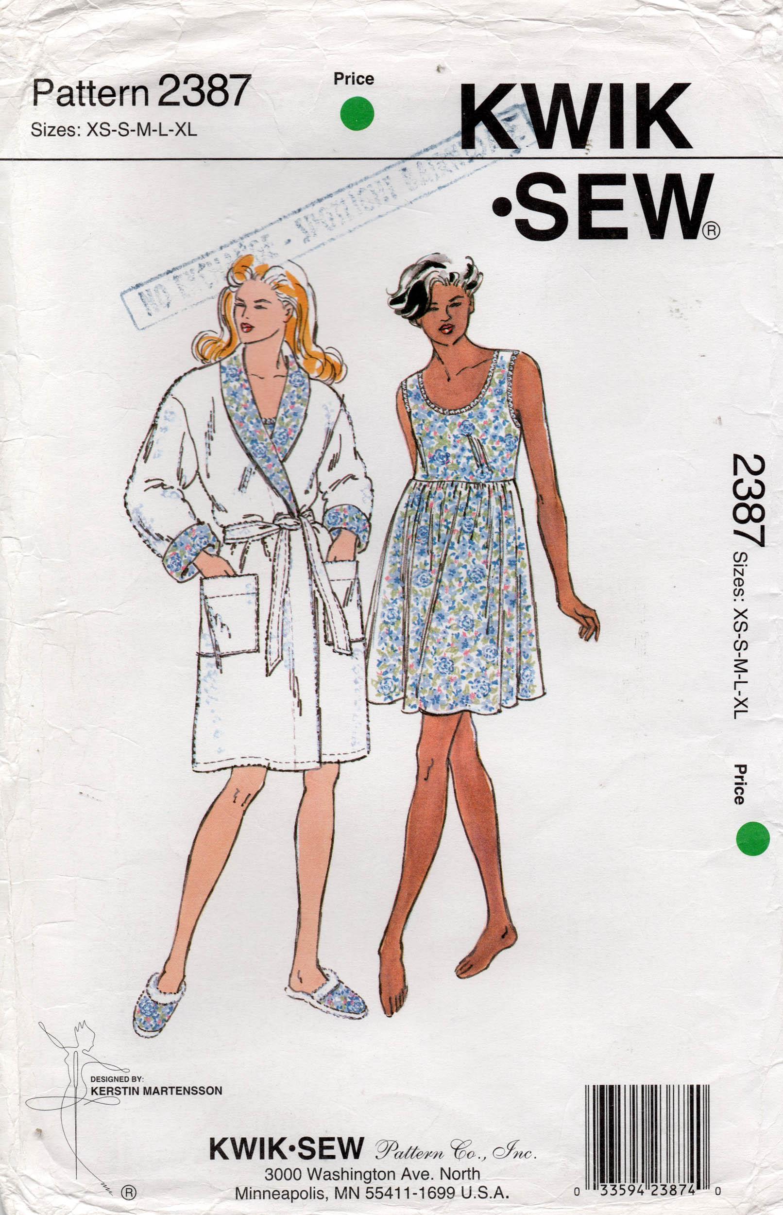 Kwik Sew 2387