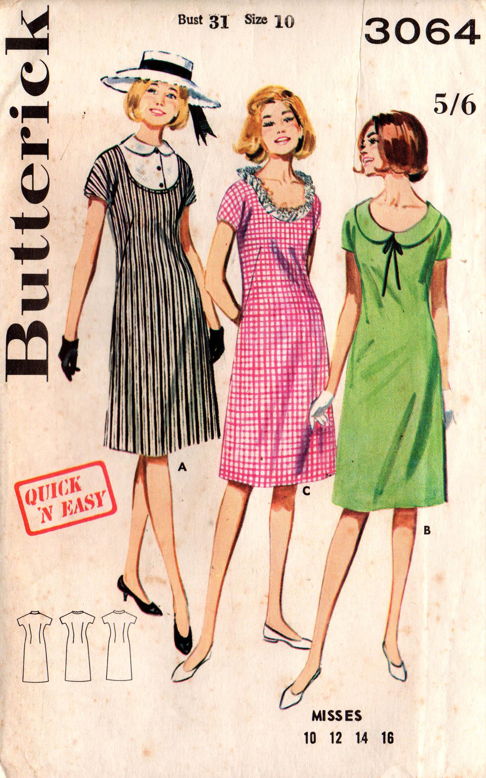 Butterick 3064 B