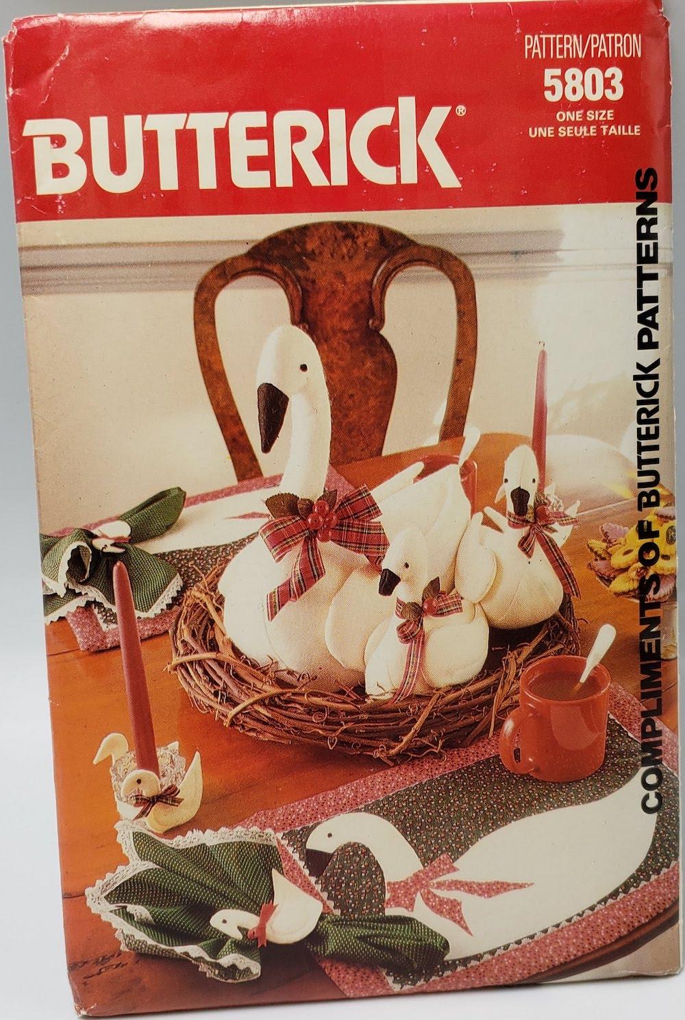 Butterick 5803 B