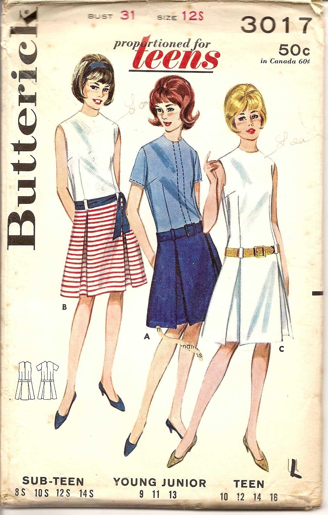 Butterick 3017