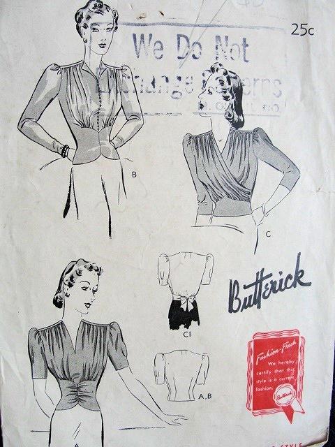 Butterick 1118