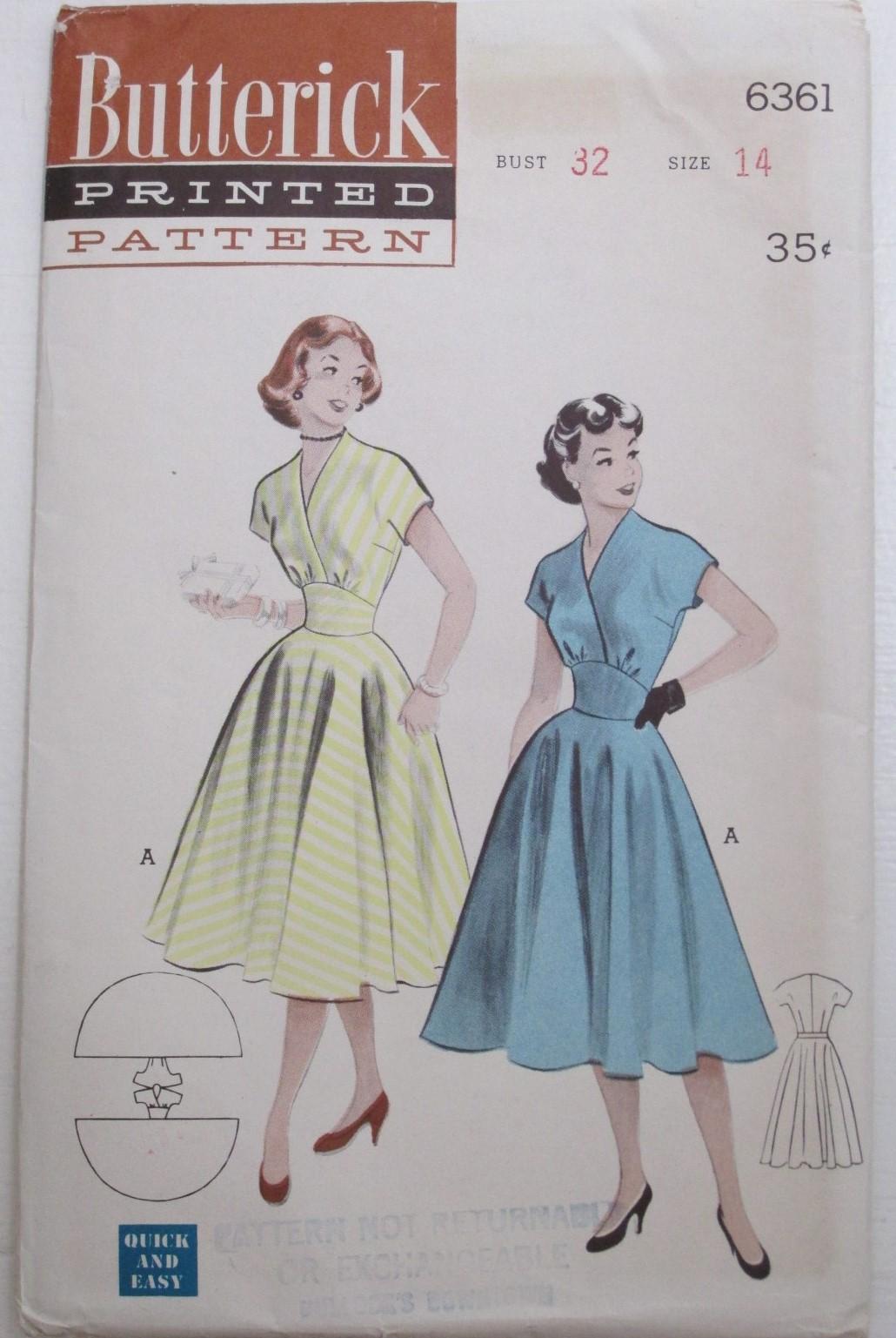 Butterick 6361 C