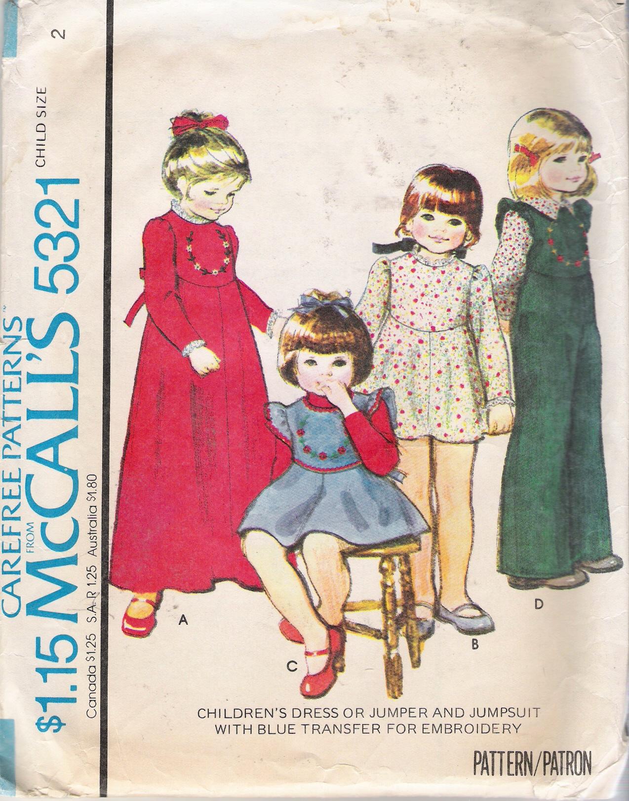 McCall's 5321
