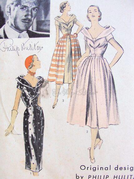 Advance American Designer Pattern 5708 circa 1950s Original Design by Philip Hulitar