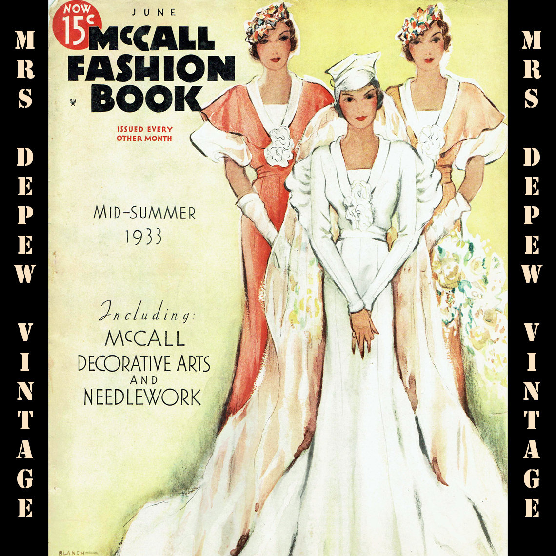 McCall Fashion Book Mid-Summer 1933