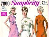 Simplicity 7800 A