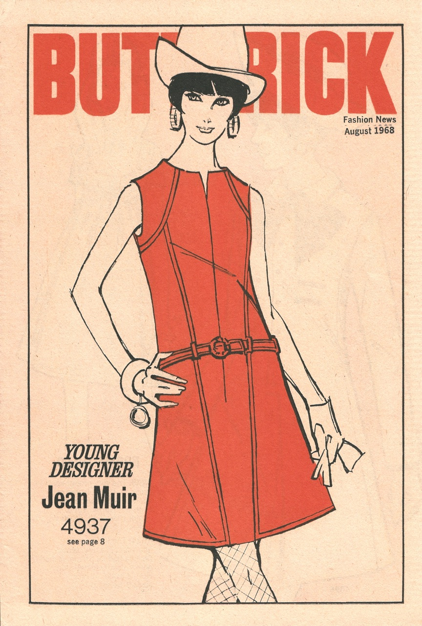 Butterick Fashion News August 1968