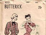 Butterick 4512