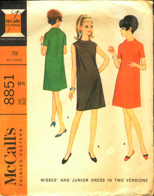 McCall's 8851 A