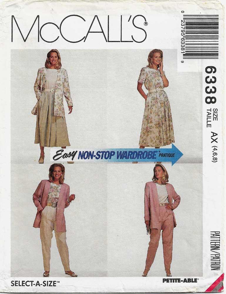 McCall's 6338 B