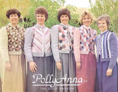 PollyAnna The Quilt Sweater